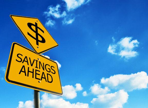 Savings-Sign